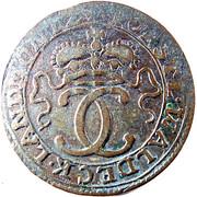 4 pfennig Karl August Friedrich – avers