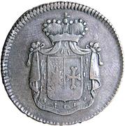 3 pfennige Georg Heinrich – avers