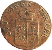 1 Pfennig - Georg Heinrich – avers