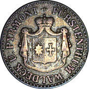 1 silbergroschen Georg Friedrich Heinrich – avers