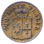 1 Pfennig - Georg Victor – avers