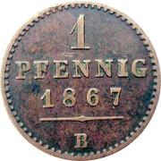 1 Pfennig - Georg Victor – revers