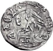 1 Dinar - Radu I. (Type I.) – revers