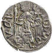 1 Dinar - Mircea cel Bătrân – avers