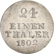 1/24 Thaler - Johann Ludwig -  revers
