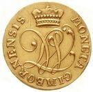 1 ducat Johann Ludwig – avers
