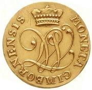1 ducat Johann Ludwig -  avers