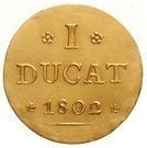 1 ducat Johann Ludwig – revers