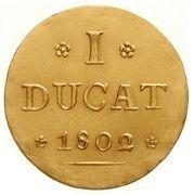 1 ducat Johann Ludwig -  revers