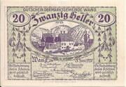 20 Heller (Wang) – avers