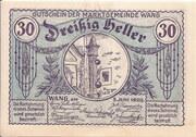 30 Heller (Wang) – avers