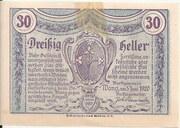 30 Heller (Wang) – revers
