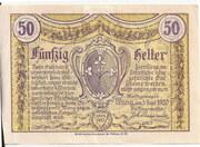 50 Heller (Wang) – revers