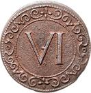 6 Pfennig – revers