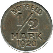 ½ mark - Warendorf – revers