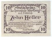 10 Heller (Wartberg an der Krems) – revers