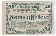 20 Heller (Wartberg an der Krems) – revers