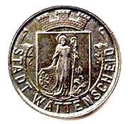 5 pfennig - Wattenscheid – avers