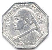 25 pfennig - Wattenscheid – revers