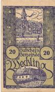 20 Heller (Wechling) – avers