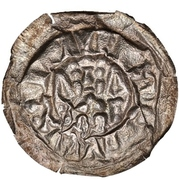 1 Brakteat - Heinrich VIII. to Heinrich IX. (Weida) – revers