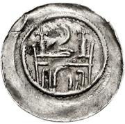 1 pfennig Friedrich I. – revers