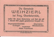 50 Heller (Weinzierl) -  revers