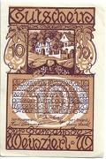10 Heller (Weinzierl am Walde) – avers