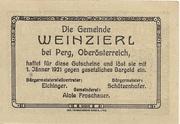 30 Heller (Weinzierl) -  avers