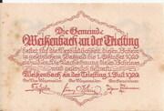 10 Heller (Weissenbach) – revers