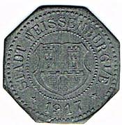 10 Pfennig - Weissenburg, Elsass (Wissembourg [67]) – avers