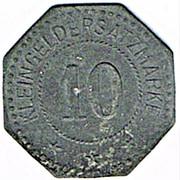 10 Pfennig - Weissenburg, Elsass (Wissembourg [67]) – revers