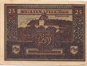 25 Pfennig (Weissenfels) -  avers