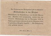 20 Heller (Weissenkirchen in der Wachau) – revers