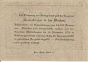 50 Heller (Weissenkirchen in der Wachau) – revers
