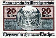 20 Heller (Weissenkirchen) – avers