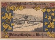 20 Heller (Weissenkirchen) -  avers