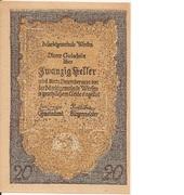 20 Heller (Werfen) -  avers