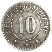 10 pfennig - Werne a. d. Lippe – revers