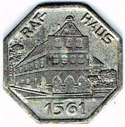 25 pfennig - Werne a. d. Lippe – avers