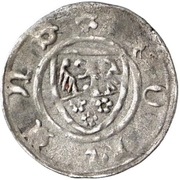 1 Pfennig - Johann I. – avers