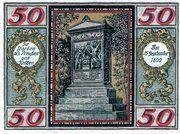50 Pfennig (Wesel) – revers