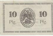 10 Pfennig (Bischofswerder) – revers