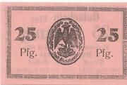 25 Pfennig (Bischofswerder) – revers