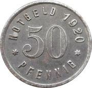 50 pfennig - Westerholt – revers
