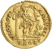 Solidus - Constantin III (VICTORIA AVGGG, Trèves) -  avers
