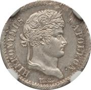 ½ frank Jérôme Bonaparte – avers