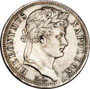 2 frank Jérôme Bonaparte – avers