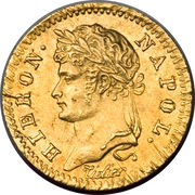 5 frank Jérôme Bonaparte – avers