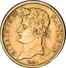 20 frank Jérôme Bonaparte – avers